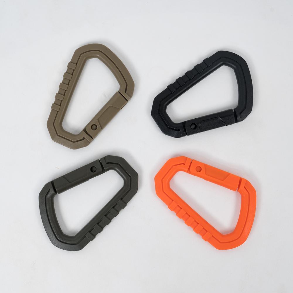 Plastic Carabiner – Black