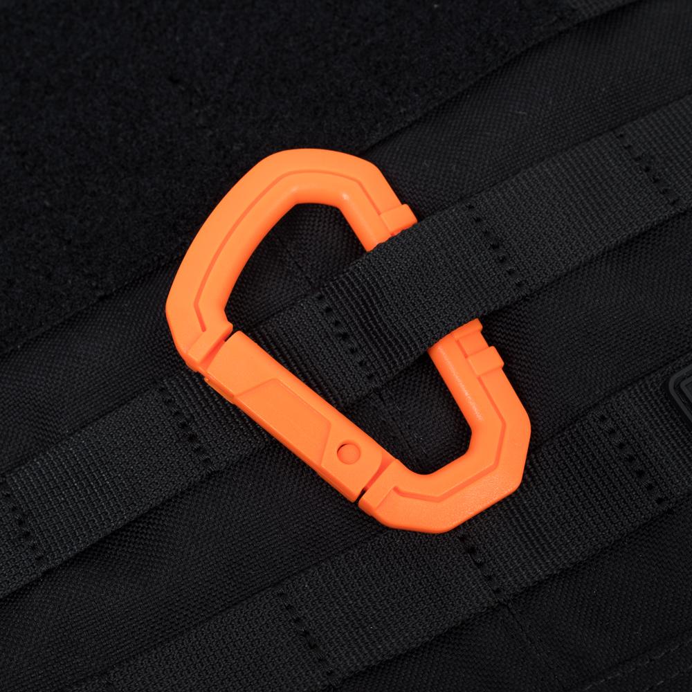 Plastic Carabiner – Orange