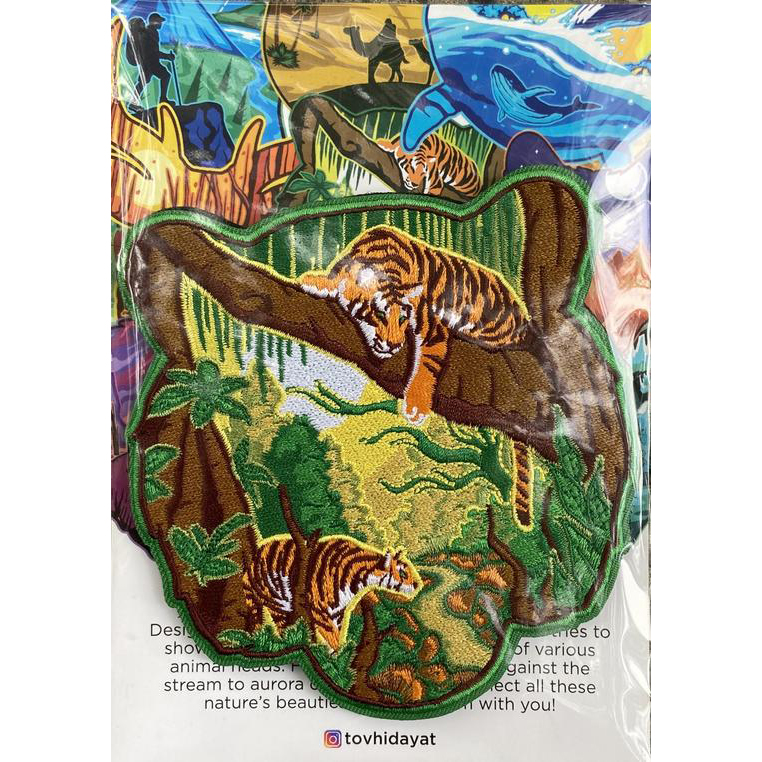 Patch Tacopsgear Wildlife Jungle