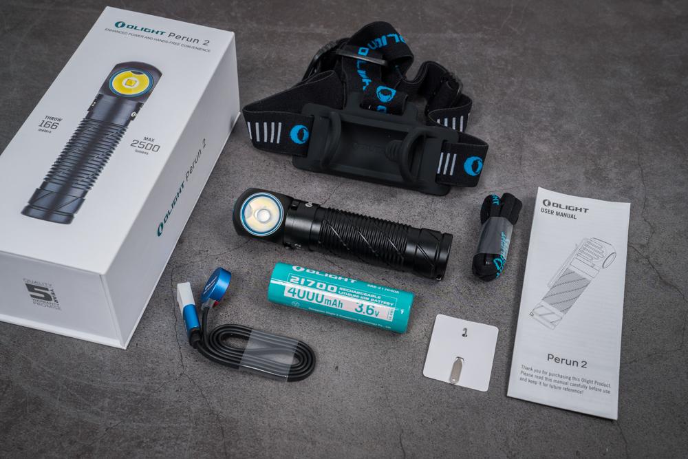 Review Đèn Pin EDC OLIGHT Perun 2: 2500 Lumens. Cảm biến vật thể xa gần