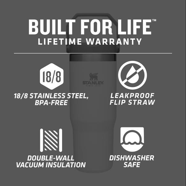 Stanley Iceflow™ Flip Straw Tumbler | 30 oz – Charcoal