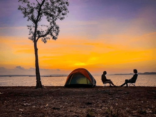 Kinh nghiệm cắm trại ở hồ Trị An 2 ngày 1 đêm trải nghiệm cực vui