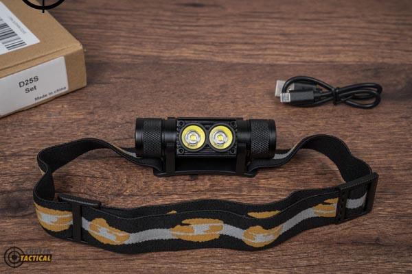 đèn pin đeo đầu Sofirn D25S