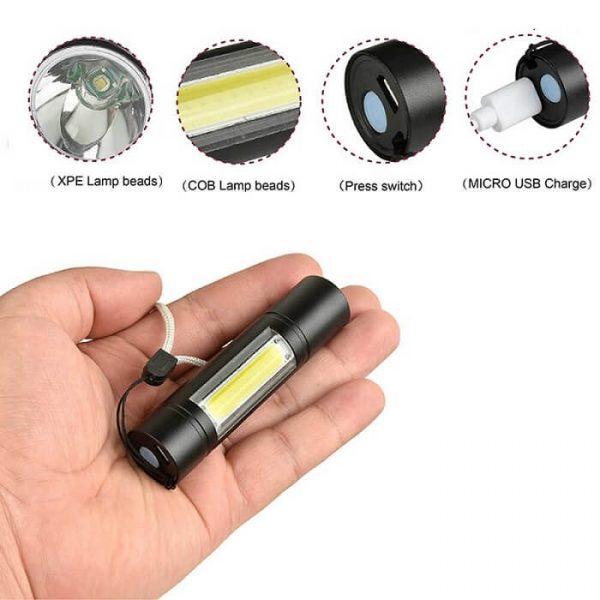 Những ưu điểm vượt trội của đèn pin mini giá rẻ bạn nên biết