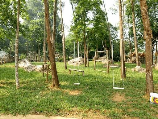 khu cắm trại gần hà nội