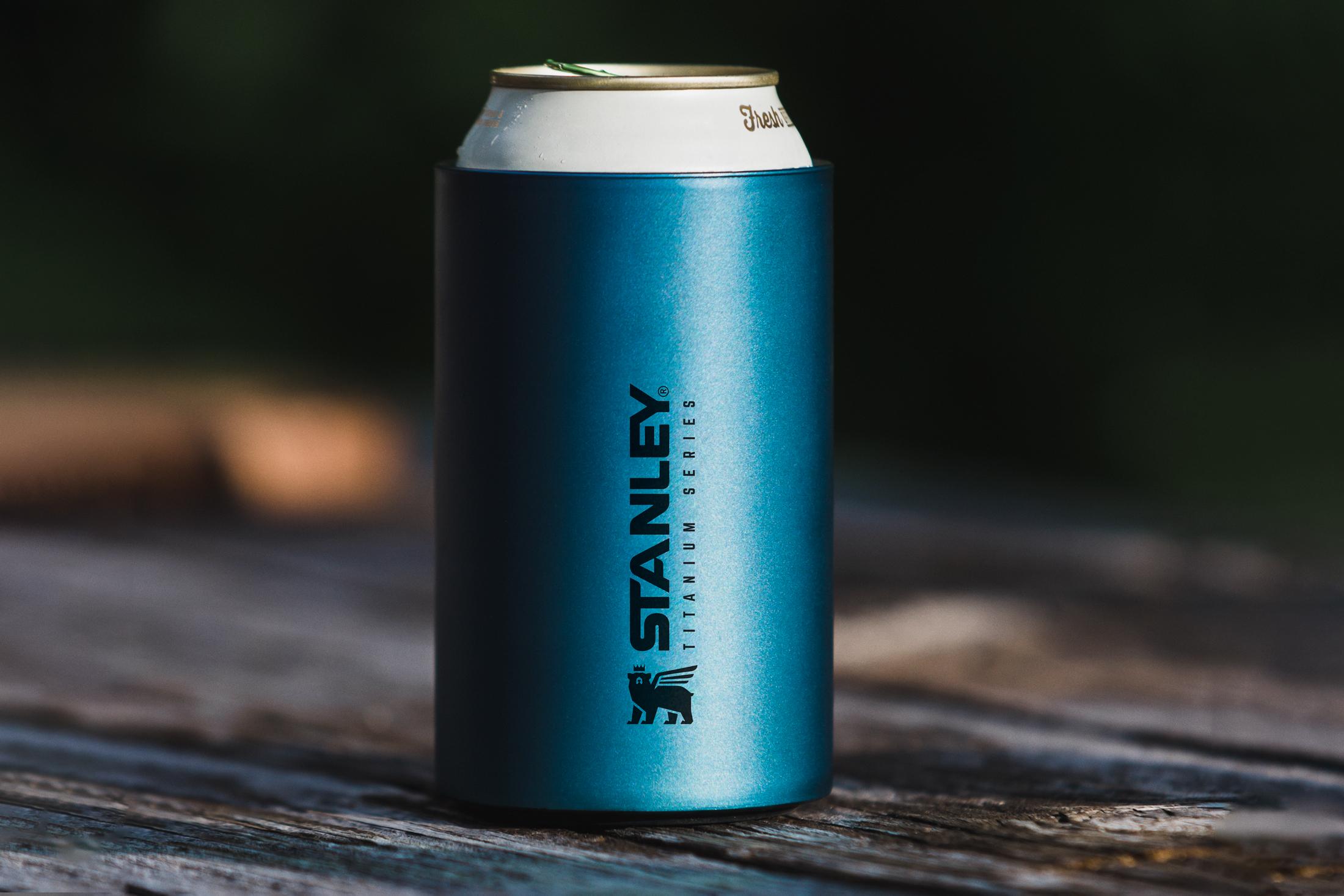 Cốc giữ nhiệt Stanley The Stay-Hot Titanium MultiCup - 10 oz có thể fit lon bia thông dụng