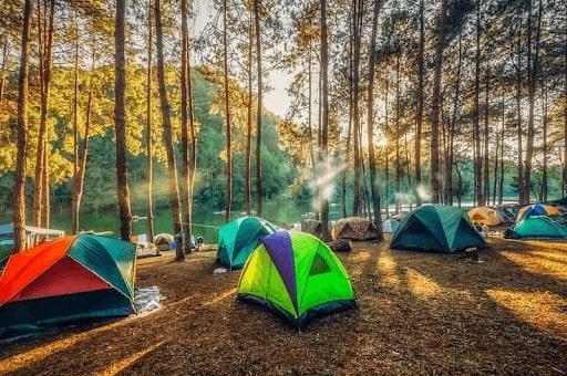 địa điểm cắm trại ở hà nội