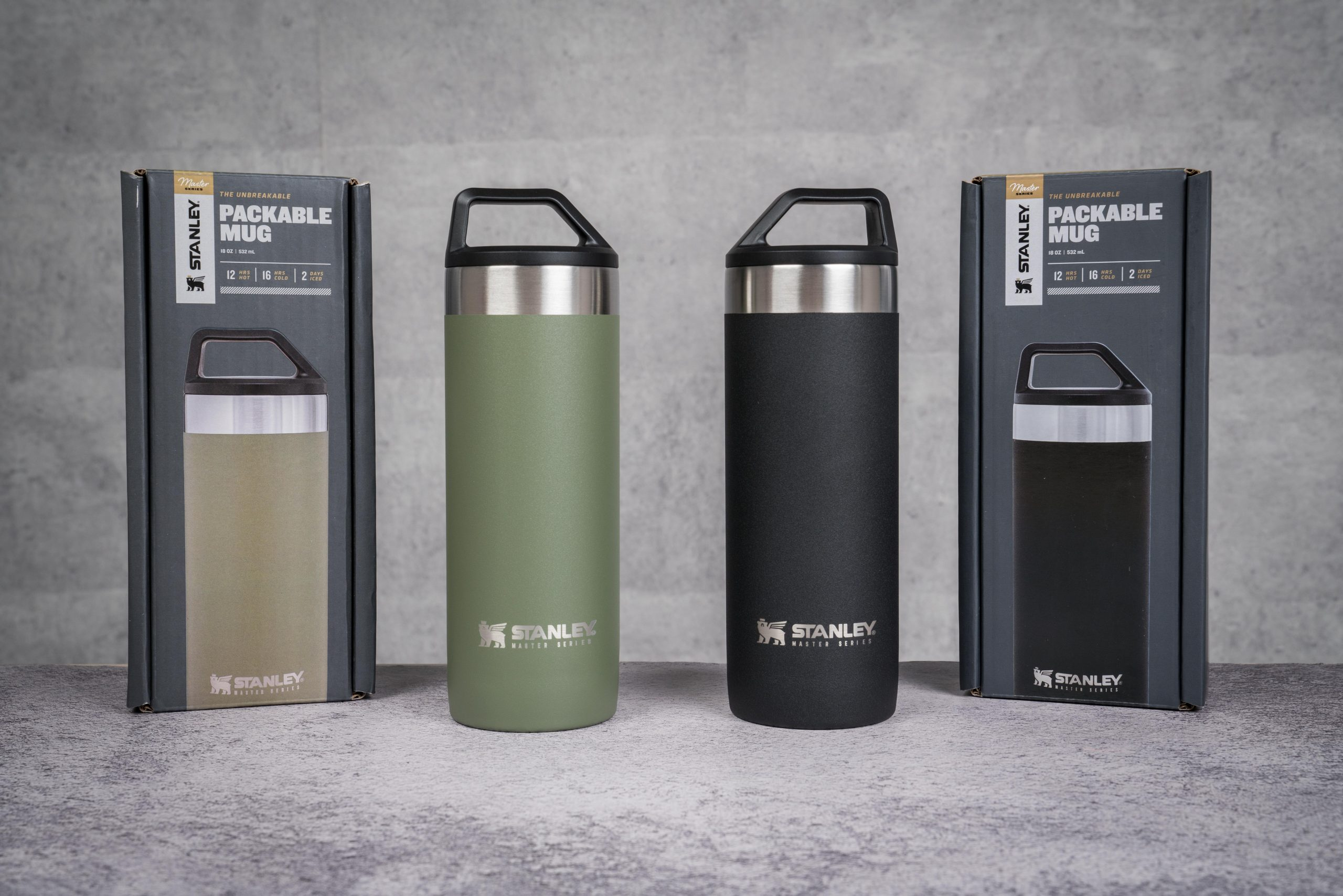 Bình giữ nhiệt Stanley Master Unbreakable Packable Mug   18 OZ