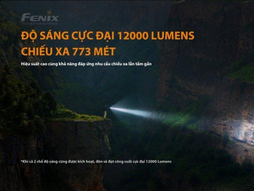 Đèn Pin Fenix – LR40R – 12000 LUMENS