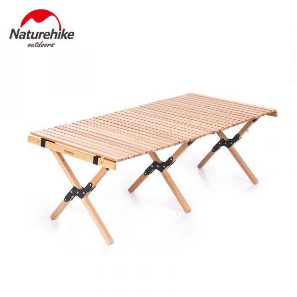 Bàn gỗ cuộn dã ngoại NatureHike NH19JJ009