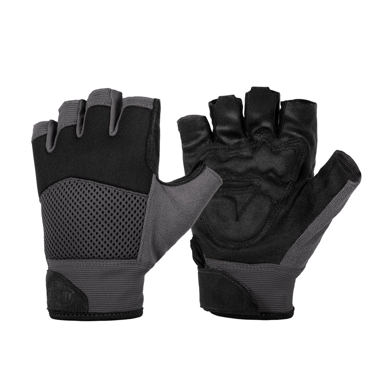 Găng Tay Half Finger MK2 - Black / Shadow Grey