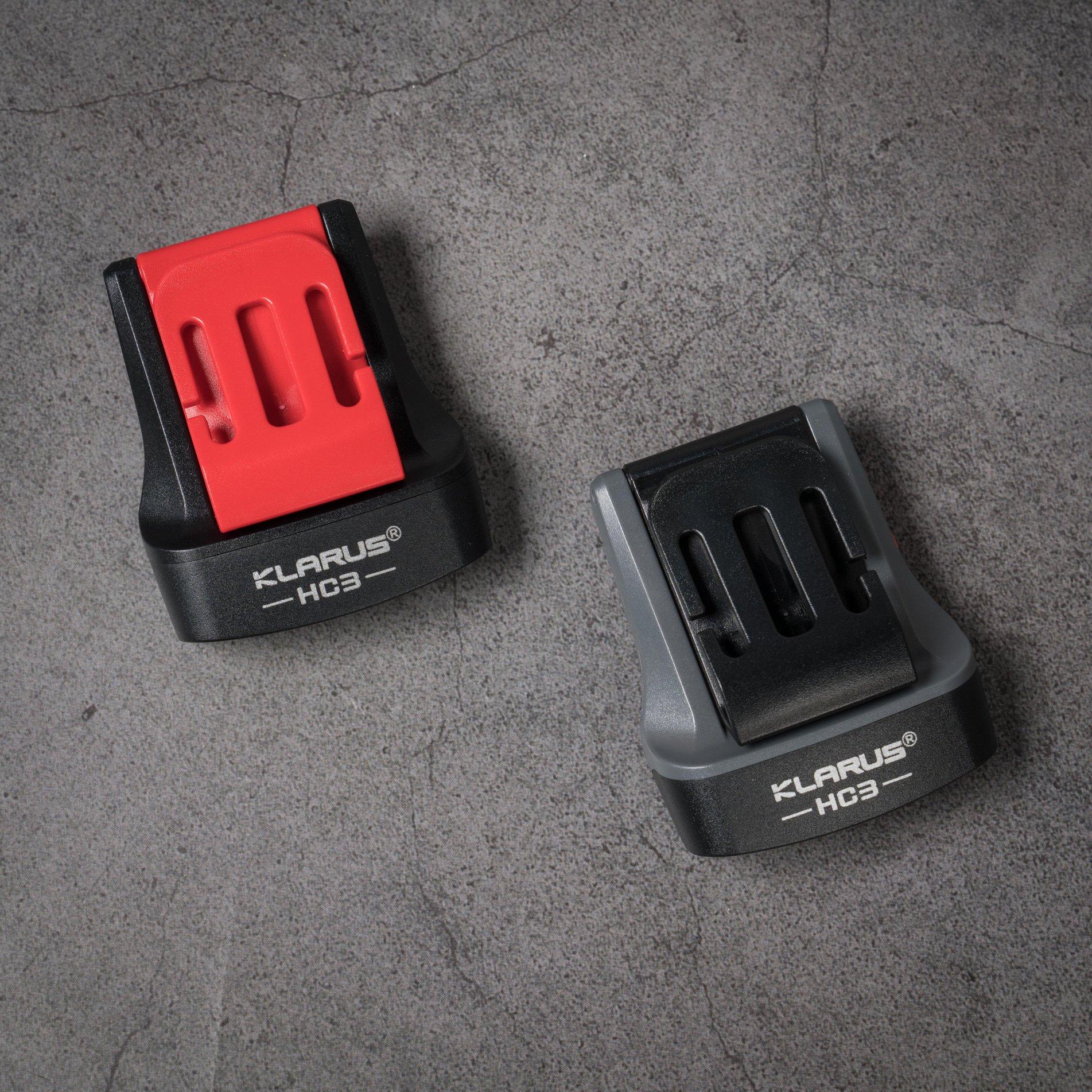 Klarus HC3 có 2 phiên bản màu để lựa chọn