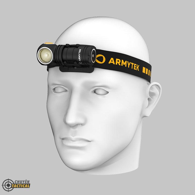 Đèn Pin Armytek WIZARD C1 PRO – Sáng Vàng