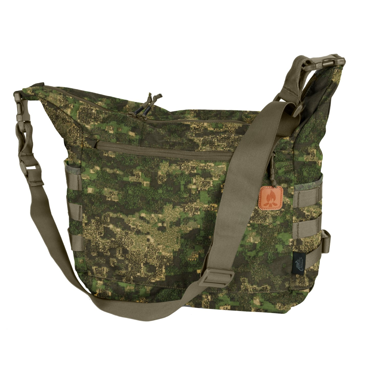 BUSHCRAFT SATCHEL BAG ® – CORDURA®- Pencott WildWood