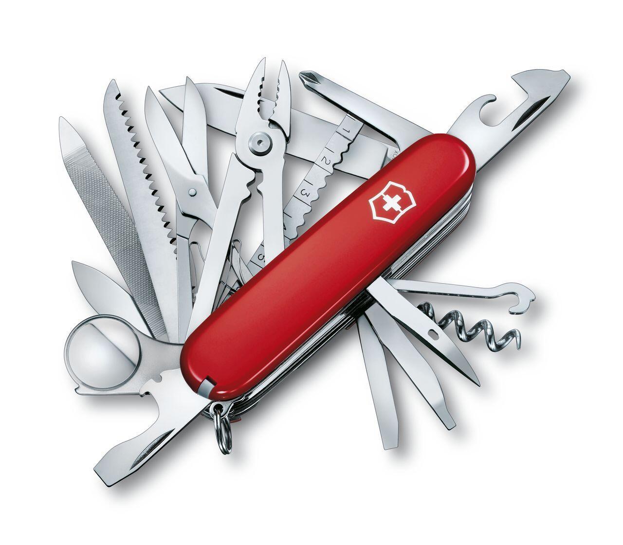 Dao Đa Năng Victorinox SwissChamp – Red