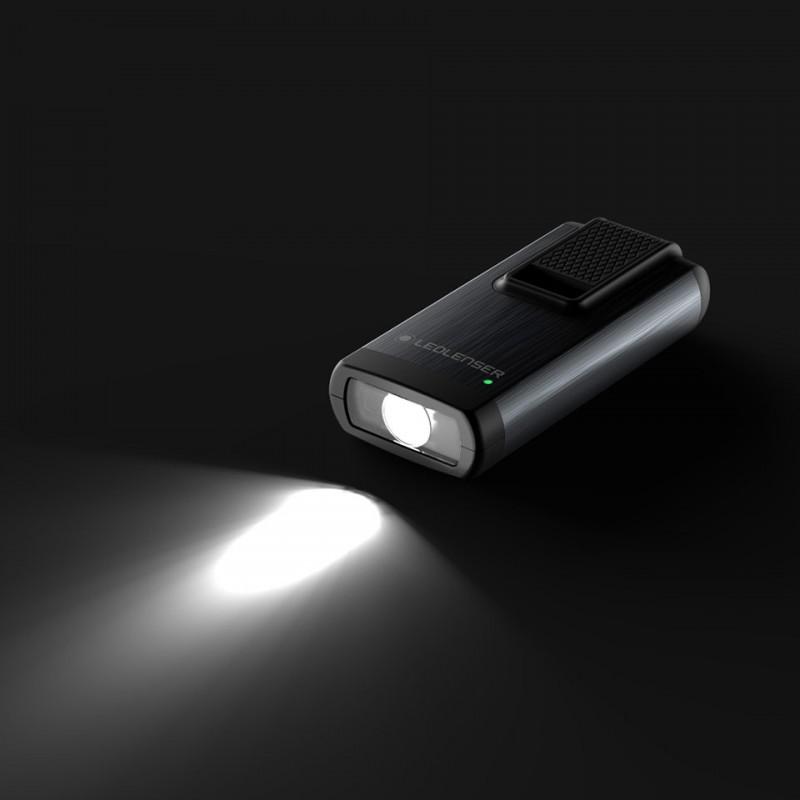 Đèn Pin Móc Khóa LedLenser K6R SAFETY – Grey