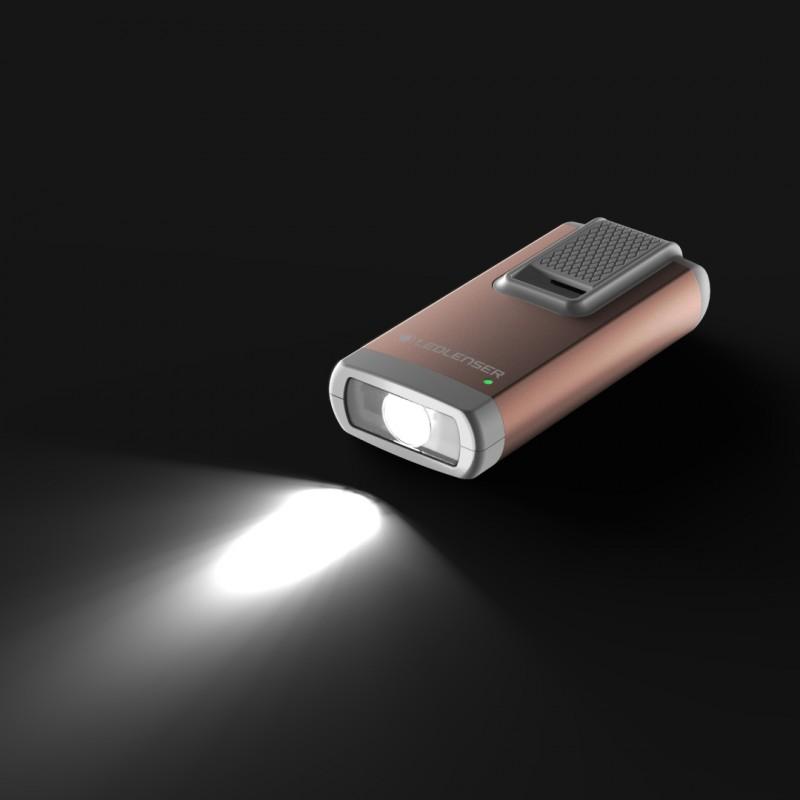 Đèn Pin Móc Khóa LedLenser K6R SAFETY – Gold