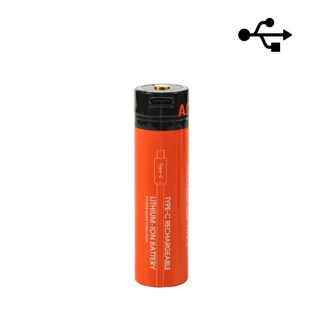 PIN SẠC ACEBEAM 21700 5100MAH DÒNG XẢ 20A SẠC USB
